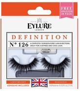 Eylure London Lengthening False Lashes No 126 1 pair