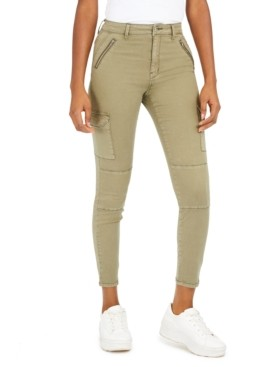 Numero High-Rise Cargo Ankle Jeans