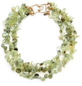 Kenneth Jay Lane Triple Row Bead Statement Necklace