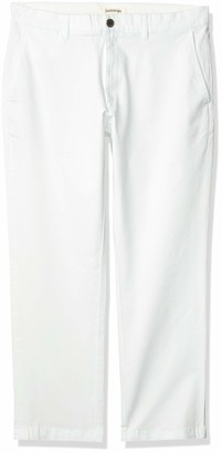 Goodthreads Amazon Brand Men's Standard Straight-Fit Washed Stretch Chino