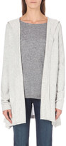 The White Company Hooded wool cardigan