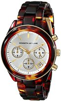 Kenneth Jay Lane Women's KJLANE-4001 4000 Series Tortoise-Pattern Watch