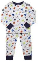 F&F Monster Print Pyjamas, Girl's