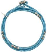 M. Cohen layer knotted wrap bracelet