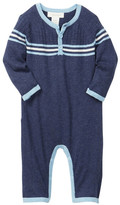 Angel Dear Pacific Crest Henley Coverall (Baby Boys)