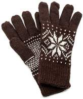 Fort Greene General Store Knit Snowflake Gloves