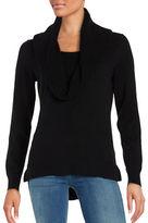 MICHAEL Michael Kors Hi-Lo Cowlneck Sweater