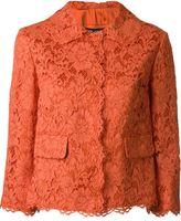 Dolce & Gabbana floral lace jacket - women - Silk/Cotton/Polyamide/Viscose - 38