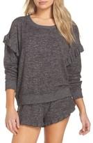 Make + Model Women's Cozy Ruffle Pullover