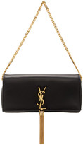 Saint Laurent Black Medium Kate 99 Tassel Bag