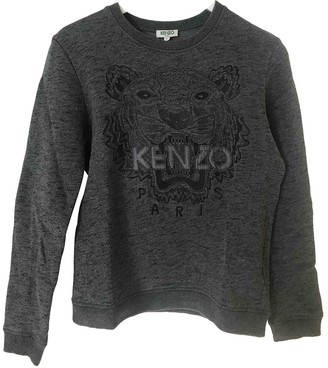 Kenzo Anthracite Cotton Knitwear for Women