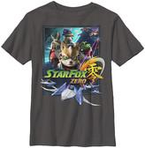 Fifth Sun Boys' Tee Shirts CHARCOAL - Star Fox Zero Charcoal Poster Tee - Boys