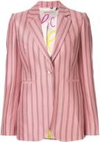 Emilio Pucci single-breasted striped blazer