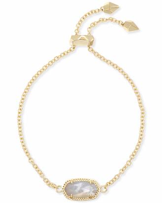 Kendra Scott Elaina Adjustable Chain Bracelet in Gold