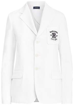 Ralph Lauren Double-Knit Jacquard Blazer