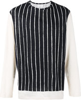 Yohji Yamamoto striped T-shirt - men - Cotton - 3