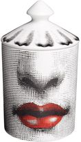 Fornasetti Bacio Otto Scented Candle With Lid