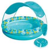 Aqua Leisure Tot Sunshade Pool with Canopy and Carry Bag in Turquoise/Multi