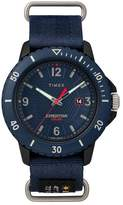 Timex Expedition Gallatin Solar Men's Blue Strap Watch