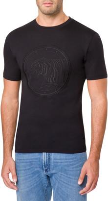 Stefano Ricci Men's Tonal Graphic T-Shirt