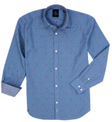 Tailorbyrd Dobby Dot Woven Dress Shirt (Big Boys)