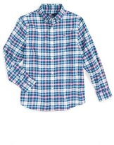 Vineyard Vines Hawes Pond Flannel Shirt (Big Boys)