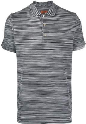 Missoni striped pattern polo shirt