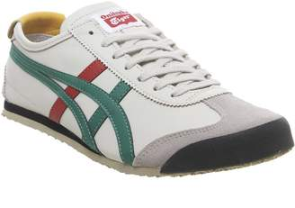 Onitsuka Tiger by Asics Mexico 66 Trainers Birch Green Red