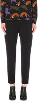 Stella McCartney Cropped crepe trousers