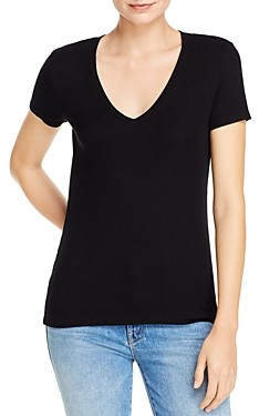 Dolan Ribbed V-Neck Top