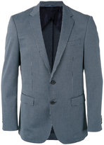 HUGO BOSS checked blazer - men - Cotton/Polyamide/Polyester/Viscose - 50