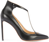 Francesco Russo T-strap pumps - women - Calf Leather - 36