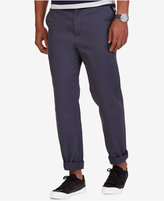 Nautica Men's Classic Fit Flat Front Deck Pants