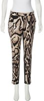 Diane von Furstenberg Mid-Rise Printed Pants