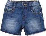 Mayoral Dark Wash Stretch Denim Shorts