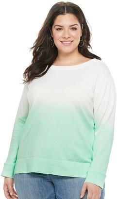 Apt. 9 Plus Size Crewneck Sweatshirt