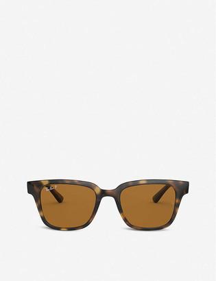 Ray-Ban RB4323 plastic Wayfarer sunglasses