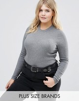 Junarose Long Sleeve Ribbed Body