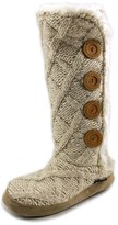 Muk Luks Malena 16430 Women US 6.5 Ivory Winter Boot