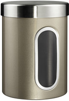 Wesco Kitchen Storage Canister with Window - New Silver