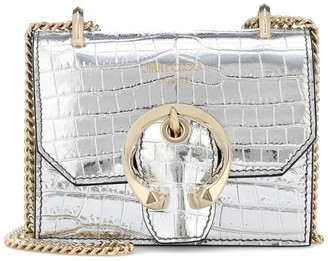 Jimmy Choo Paris Mini leather crossbody bag