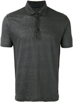 Etro classic polo shirt - men - Linen/Flax - M