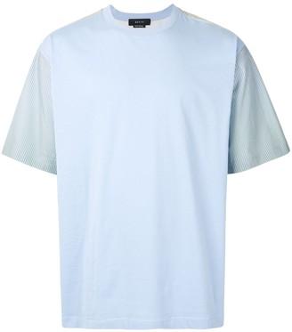 Qasimi gradient stripe colour-block T-shirt