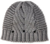 Vince Camuto Geo Stitch Hat with Studs