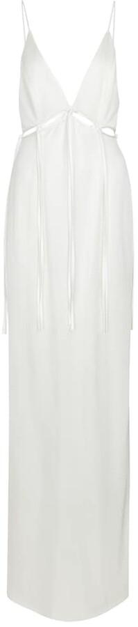 Thumbnail for your product : Galvan Bridal Ellipse stretch-jersey gown