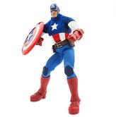 Disney Marvel Ultimate Series Captain America Premium Action Figure - 11 1/2''