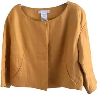 Chloé \N Yellow Linen Jackets