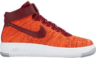 Nike Force 1 Flyknit Total Crimson Team Red (W)