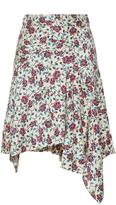 Isabel Marant Rachel Handkerchief Hem Skirt