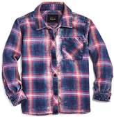 Rails Girls' Faded-Wash Plaid Shirt